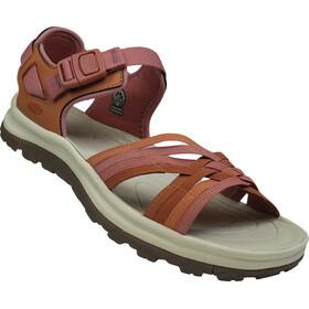 Keen Terradora II Strappy Open Toe Sandals Women, redwood/pheasant